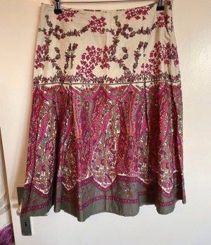 More & More Jupe à plis multicolore