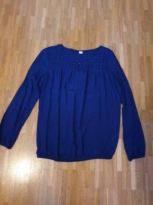 Schöne dunkelblaue Bluse von s.Oliver