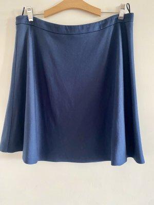 Schöne dunkelblaue Damen Rock Gr 42 Esprit