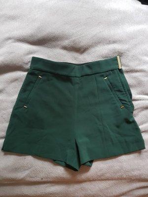 H&M Hot pants donkergroen