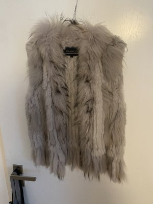 Oakwood Giacca in pelliccia grigio chiaro-grigio