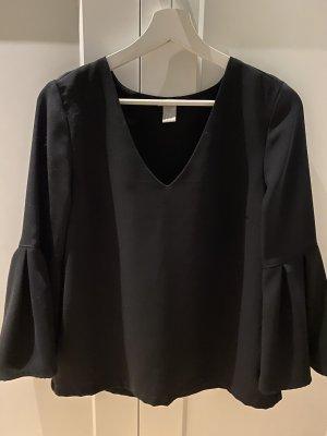 H&M Kimono Blouse black