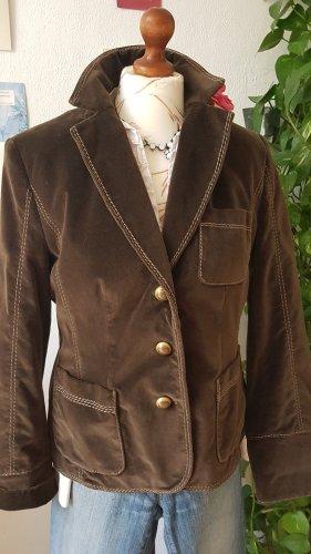 Luisa Cerano Wool Jacket multicolored cotton