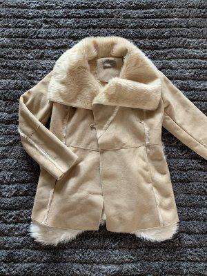 Orsay Futrzana kurtka Wielokolorowy
