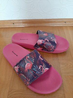 Avantgarde Flip-Flop Sandals anthracite-pink