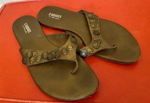3 Suisses Flip flop sandalen brons