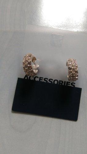 Schöne funkelnde Creolen Ohrringe