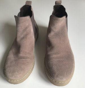 Gabor Ankle Boots mauve leather