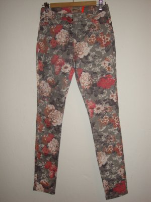 Only Jeggings multicolore Cotone