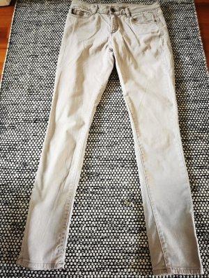 Esprit Pantalon cigarette beige clair