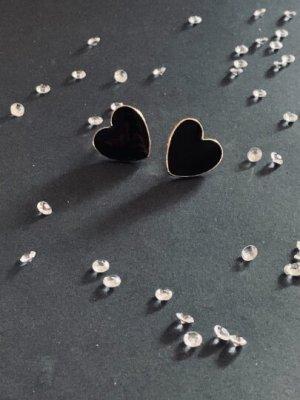Schöne goldene Ohrstecker/Ohrringe. In Herz-Form. Ideal für Verliebte... #Topshop