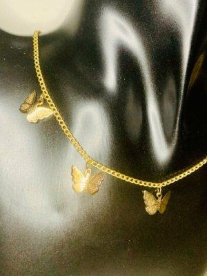 Topshop Collar color oro