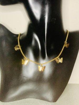 """Schöne goldfarbene Kette, Special Design, sehr angenehm zu tragen,recht leicht, und """"WOW"""" Hingucker #Topshop"""
