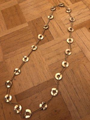 Schöne goldfarbene Longkette