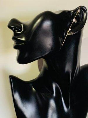 Schöne goldfarbene Ohrklemme, Ohrringe, Ohrstecker ,sehn wirklich schön aus am Ohr... #Topshop
