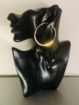 Schöne goldfarbene Ohrstecker. Ohrhänger , Creolen #TopShop