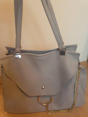 schöne graue Handtasche