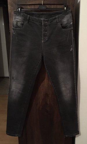 Schöne graue Jean