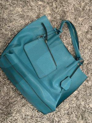 Schöne große echtleder Handtasche