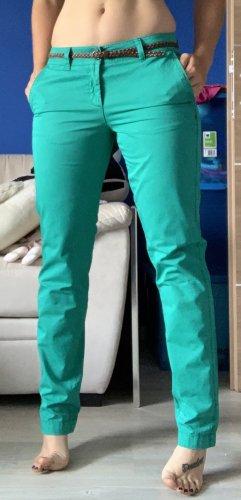 Schöne grüne Chinohose