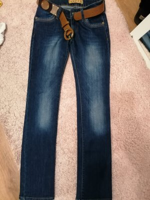 Gucci Low Rise jeans donkerblauw