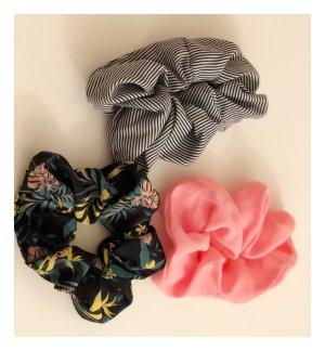 H&M Wstążka do włosów biały-różowy
