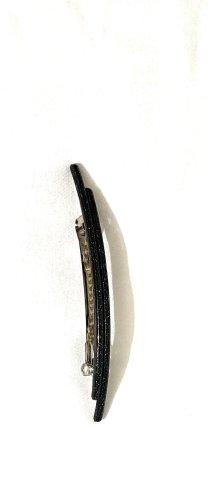 Molletta per capelli nero-argento