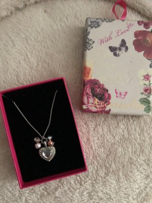 Accessorize Necklace rose-gold-coloured-light grey