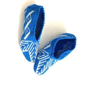 Handmade Sombrero de punto multicolor