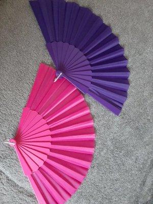 Abanico rosa-violeta oscuro