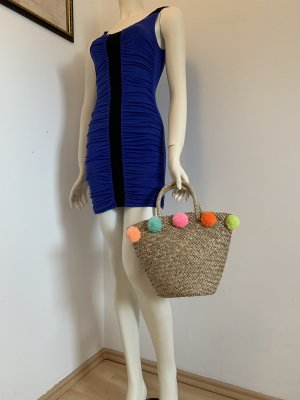 handmade Basket Bag multicolored