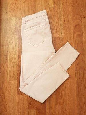 Zara Jeans a 3/4 rosa pallido