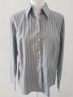 Marco Pecci Camicia a maniche lunghe bianco-grigio