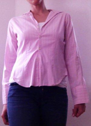 Schöne Hemdbluse gestreift in rosa von Esprit 38/M