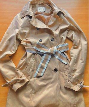 Orsay Kurtka przejściowa beżowy-w kolorze białej wełny Bawełna