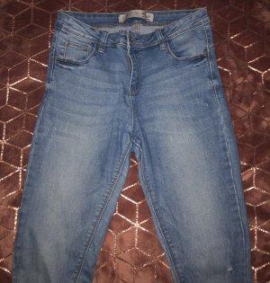 Denim Co. Jeans taille haute bleuet-bleu azur