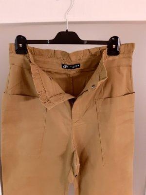 Zara 3/4 Length Trousers grey brown