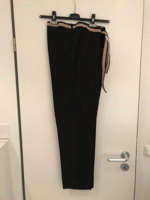 Angela Davis Pantalone jersey blu scuro