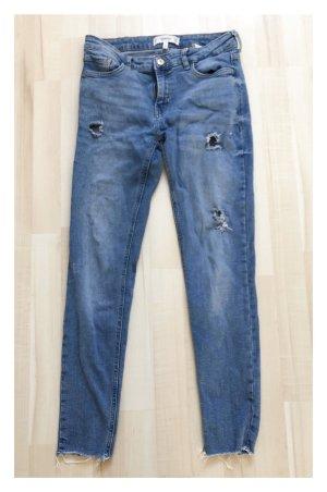 Stretch Jeans Gr.50 in dunkelblau 887