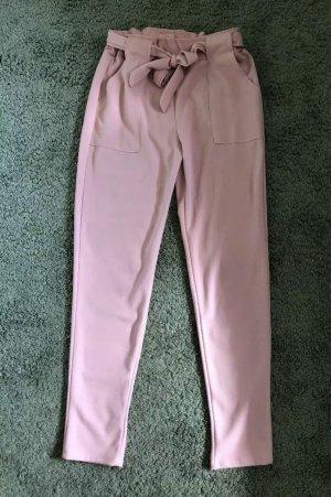0039 Italy Pantalon taille haute rose