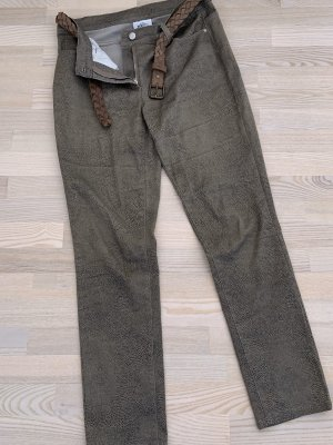 Gina Benotti Pantalone peg-top marrone-grigio