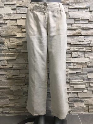 Betty Barclay Pantalone di lino beige chiaro