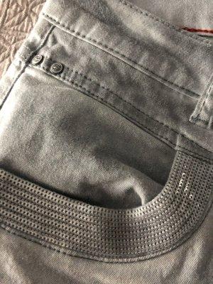 Buena Vista Pantalon cinq poches gris ardoise