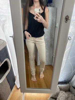 Castro Pantalon taille basse beige-chameau