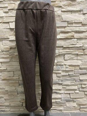 aus Italy Pantalone jersey marrone chiaro-marrone