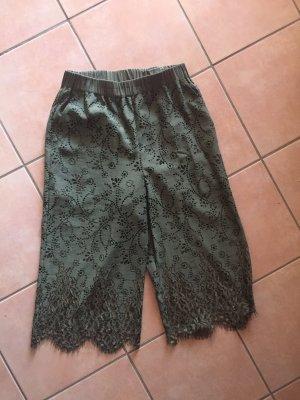 Pinko Pantalone a 7/8 grigio-verde
