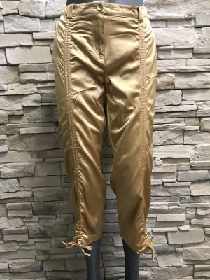 Woman's Fashion Stretch broek goud