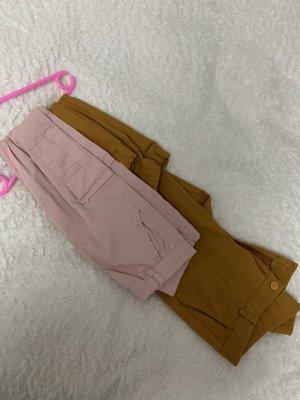 Pantalón de camuflaje beige-rosa