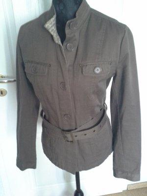 3suisses collection premium Veste safari bronze coton