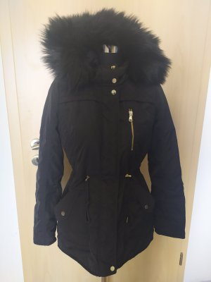 Clockhouse Winter Jacket black-gold-colored
